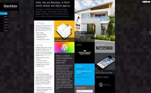 报纸排版风格的网页设计原则